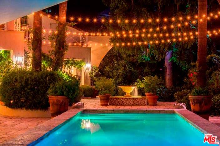 Дом в средиземноморском стиле в Голливуд-Хиллс