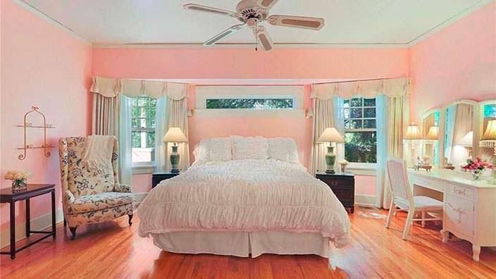 Потолочный вентилятор в дизайне спальни