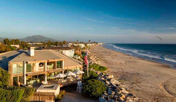 Дом у океана близ Санта-Барбары актрисы Эллен Дедженерес