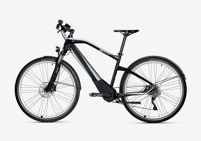 Гибридный велосипед BMW E-Bicycle: до 100 км на одной зарядке