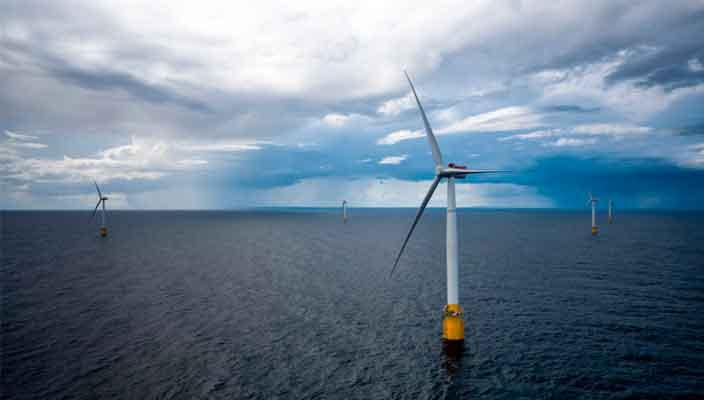 Запущена первая в мире плавающая ветряная электростанция
