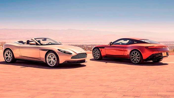 Родстер и купе Aston Martin DB11