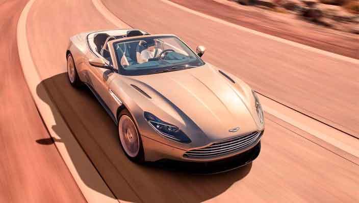 Официально: Aston Martin DB11 теперь и кабриолет | фото, цена