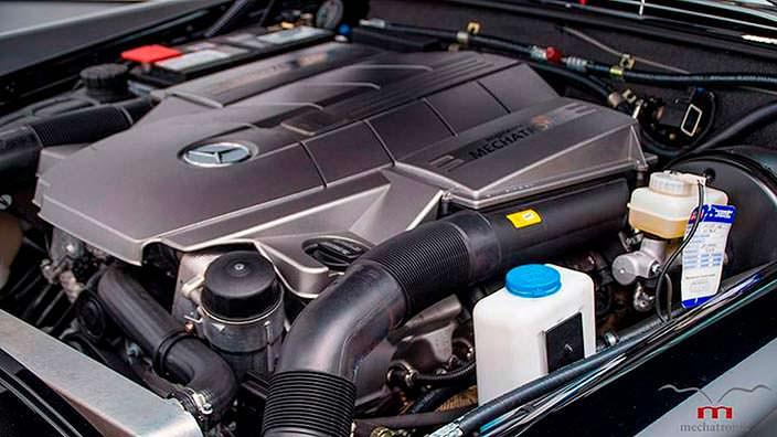 Двигатель V8 AMG от Mercedes-AMG SLK 55