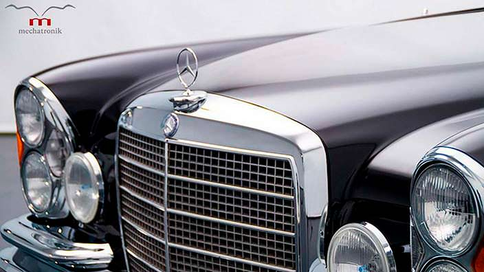 Радиаторная решетка Mercedes-Benz W111 M-Coupe