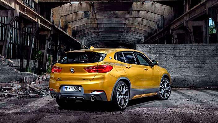 Новый кроссовер BMW X2