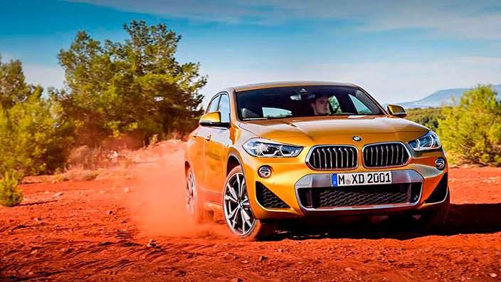 Новая BMW X2 F39