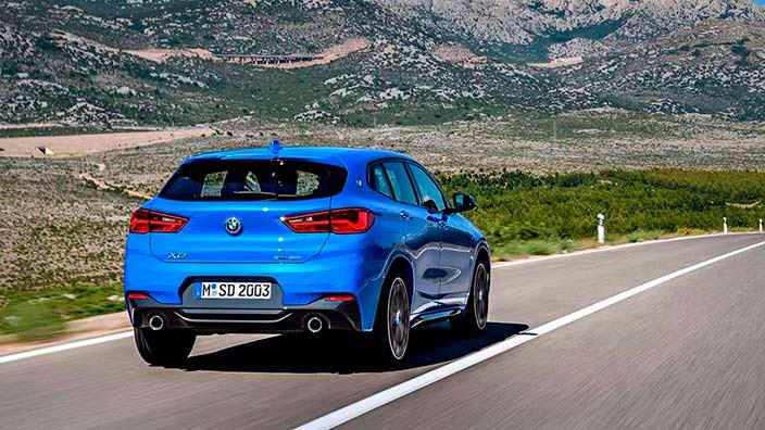 Новая BMW X2. Кузов F39