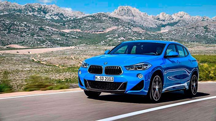 Компактный кроссовер BMW X2. Кузов F39