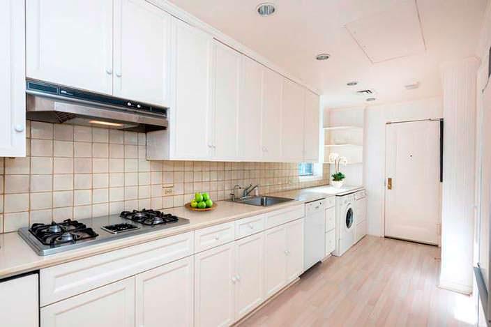 Дизайн кухни в доме на Манхэттене