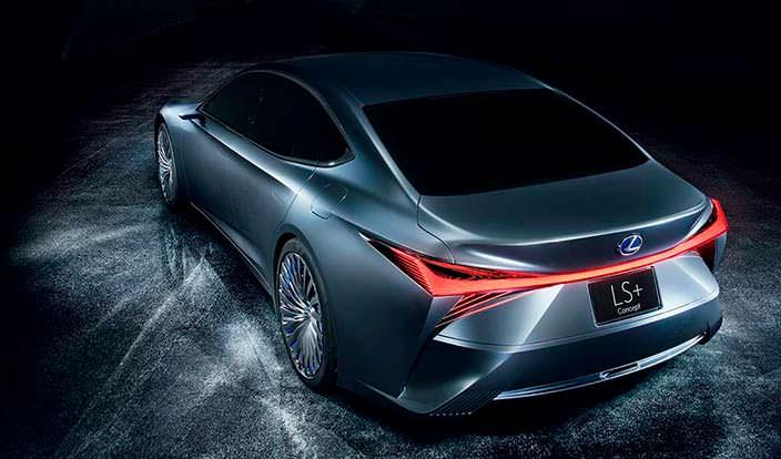 Новый Lexus LS+ Concept 2017