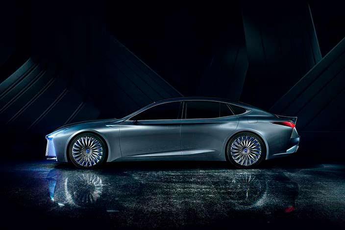 Новый Lexus LS+ Concept. Токийский автосалон 2017 года