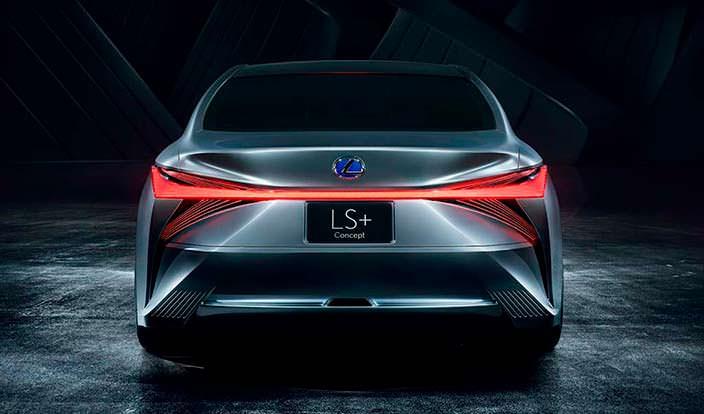 Lexus LS+ Concept. Новый язык дизайна