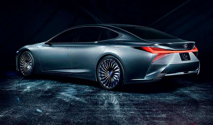 Lexus LS+ Concept 2017 года