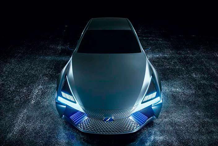 Lexus LS+ Concept. Автосалон в Токио 2017 года