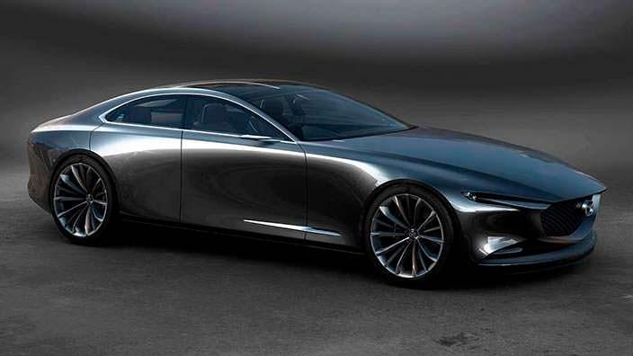 Четырехдверное купе Mazda Vision Coupe Concept