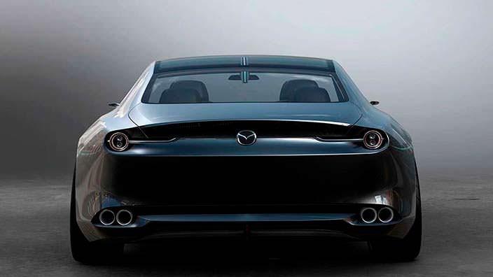 Элегантное купе Mazda Vision Coupe Concept