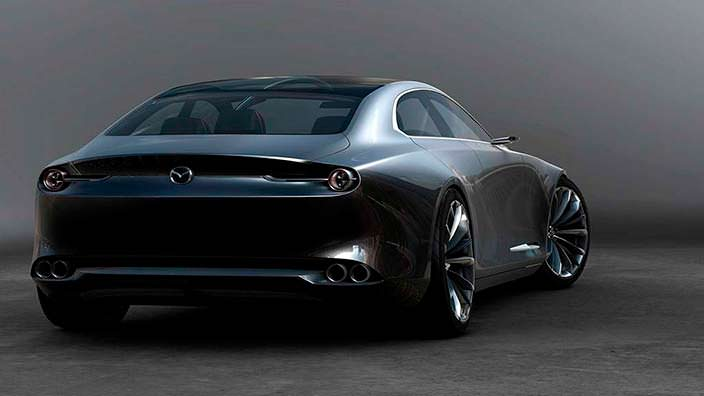 Mazda Vision Coupe Concept: дизайн Kodo