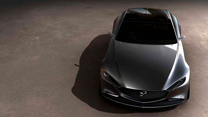 2017 Mazda Vision Coupe Concept: дизайн Kodo