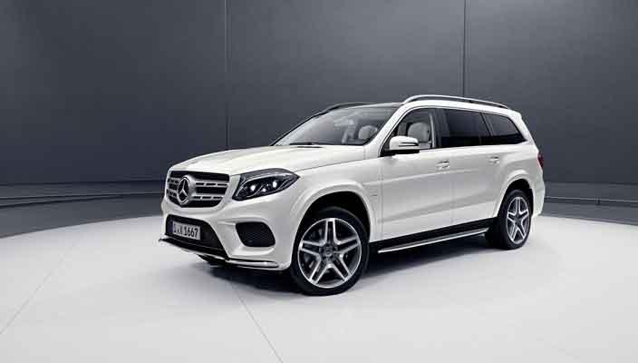 Новый Mercedes-Benz GLS Grand Edition - еще больше роскоши