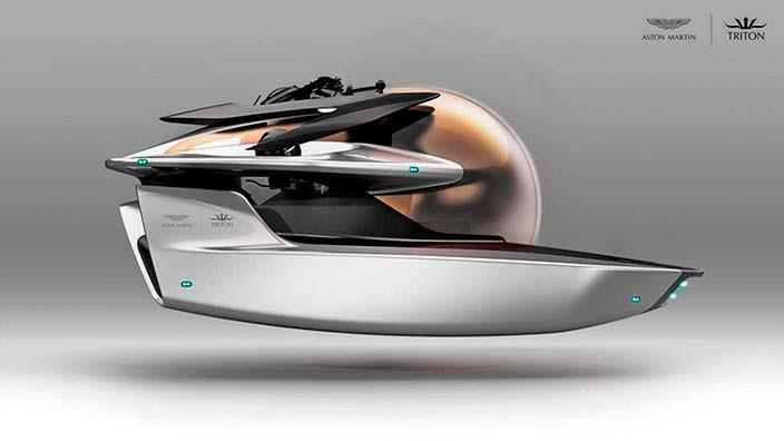 Мини-подлодка Project Neptune от Aston Martin и Triton