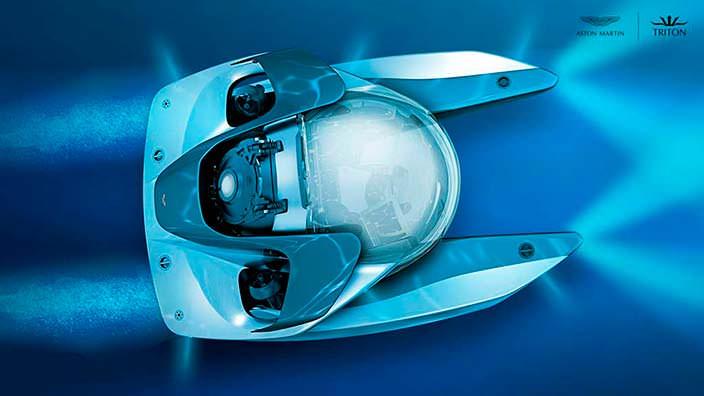 Мини-подлодка Aston Martin Project Neptune на 3 человека