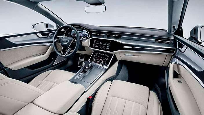 Фото салона Audi A7