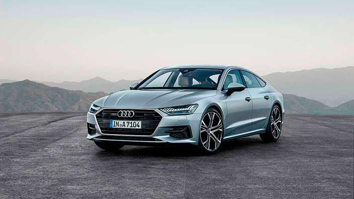 Audi A7 второго поколения