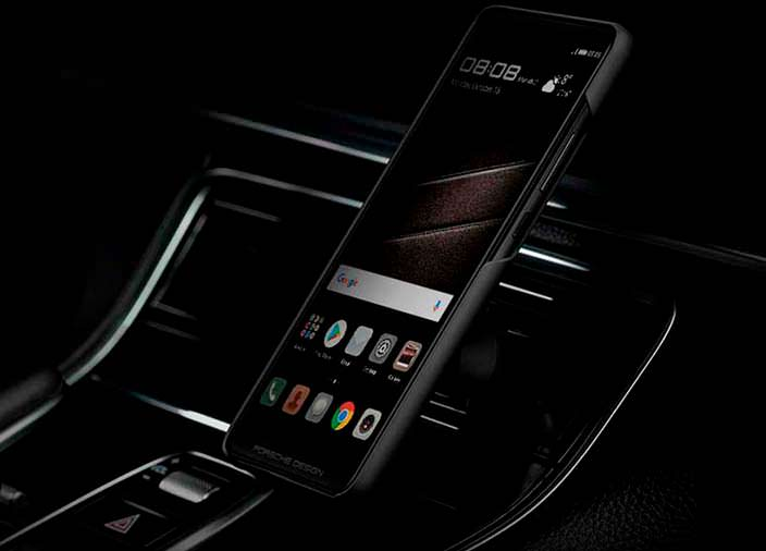 Новый смартфон Porsche Design Huawei Mate 10