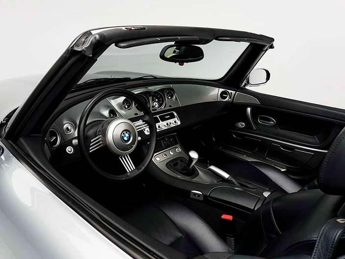 Кожаный салон BMW Z8