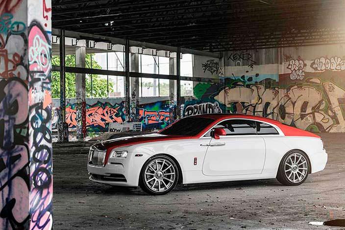 Элитное купе Rolls-Royce Wraith от подразделения Bespoke