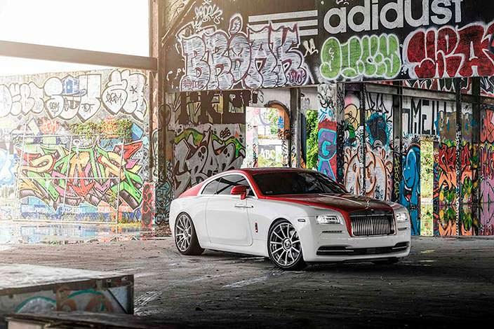 Элитное купе Rolls-Royce Wraith на дисках Forgiato Undice-ECL