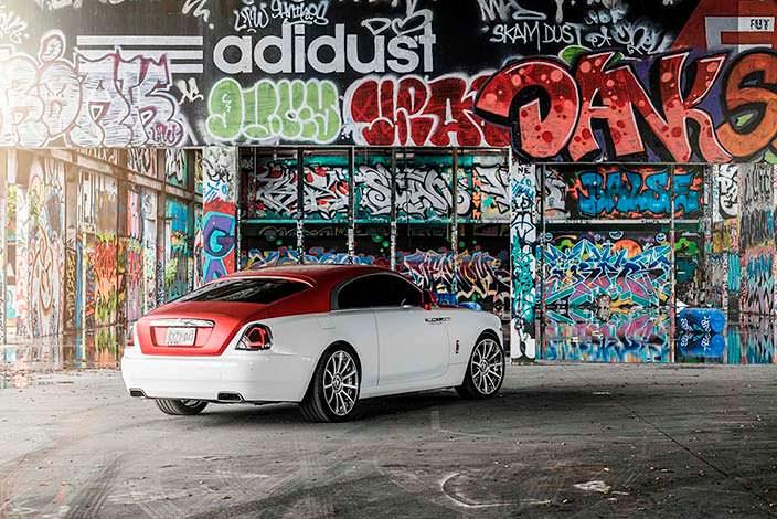 Элитный Rolls-Royce Wraith на дисках Forgiato Undice-ECL
