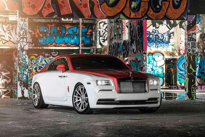 Элитный Rolls-Royce Wraith от Bespoke