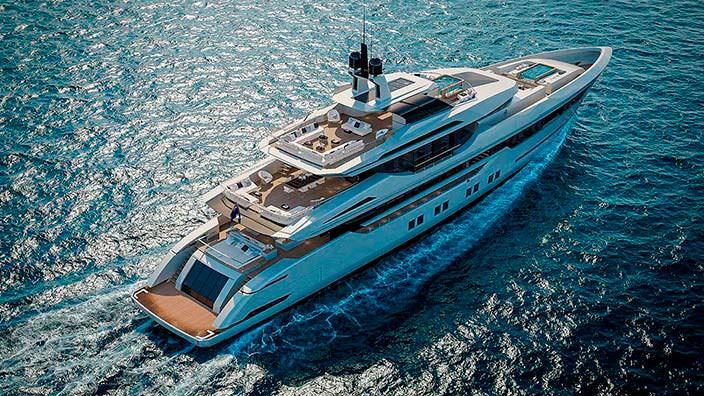 Алюминиевая яхта Sarp Yachts Nacre 55