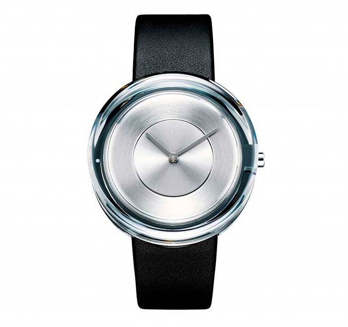 Стеклянные часы Issey Miyake от Токуджина Йошиоки