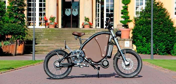 Педальный мотоцикл The Gulas PI1S: с литиевым аккумулятором