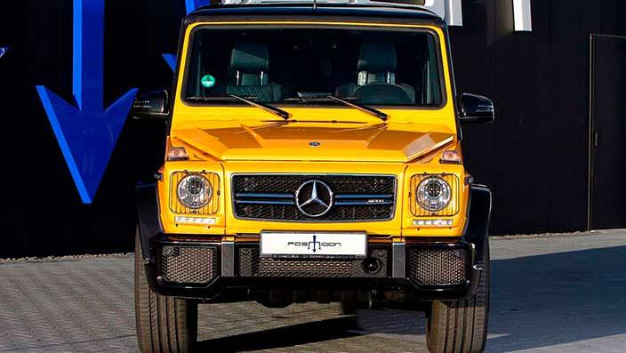 Тюнинг Mercedes-AMG G63 от ателье Posaidon