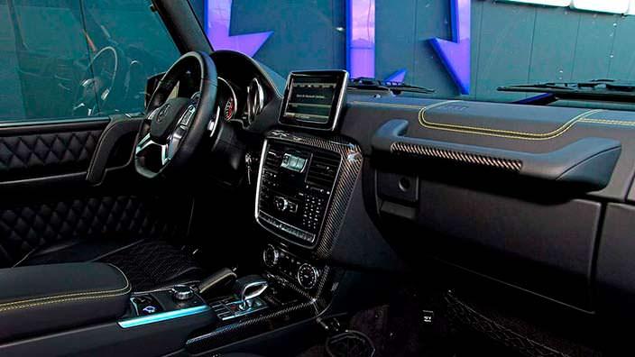 Фото салона Mercedes-AMG G63