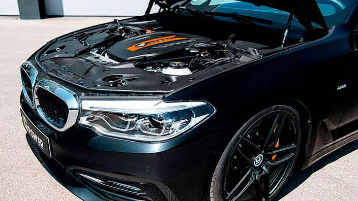 Двигатель BMW 5-Series G30. Тюнинг от G-Power