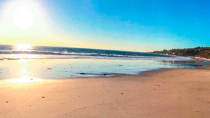 Частный пляж виллы