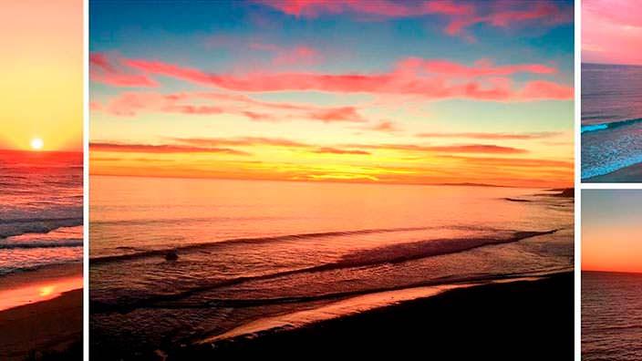 Частный пляж виллы Синди Кроуфорд в Малибу