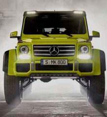 Монстр-внедорожник Mercedes G500 4×4² уходит на покой