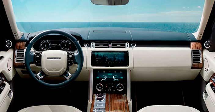Фото салона Range Rover 2018