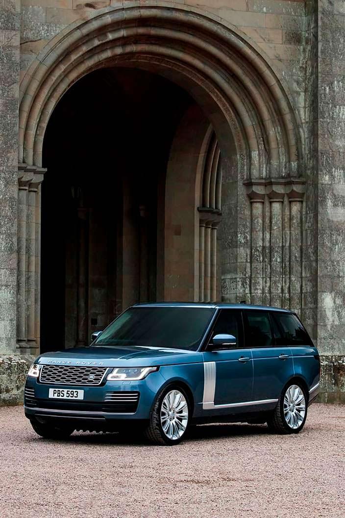 Рестайлинг Range Rover 2018