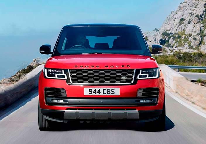 Обновленный Range Rover 2018