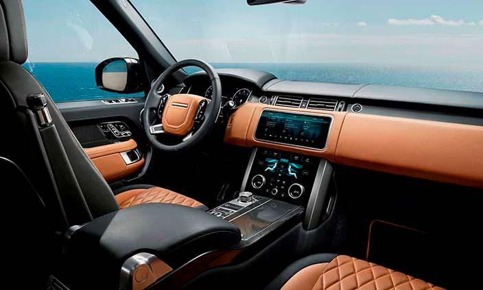 Салон Range Rover 2018