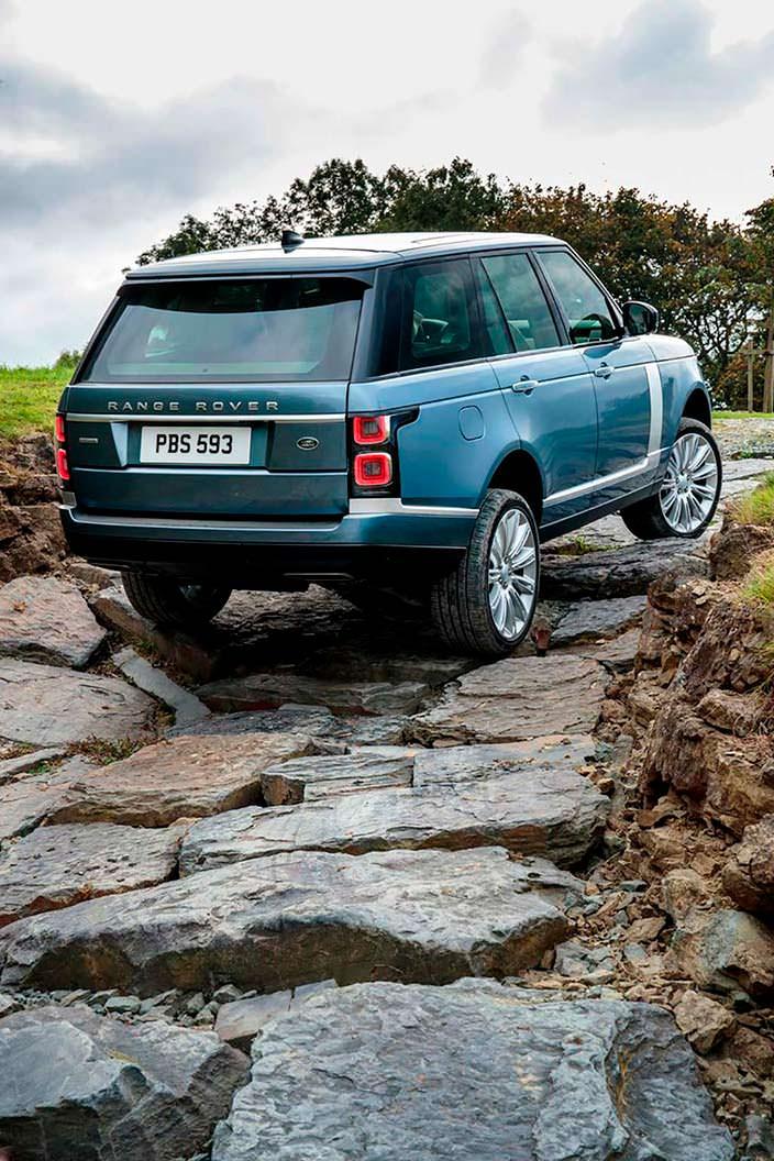 Новый Range Rover 2018 на бездорожье