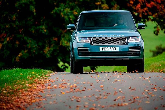 Внедорожник Range Rover. Рестайлинг 2018