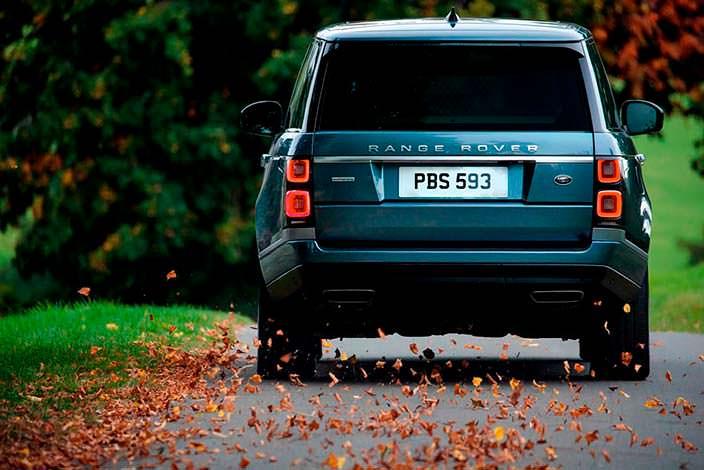 Новый внедорожник Range Rover. Рестайлинг 2018